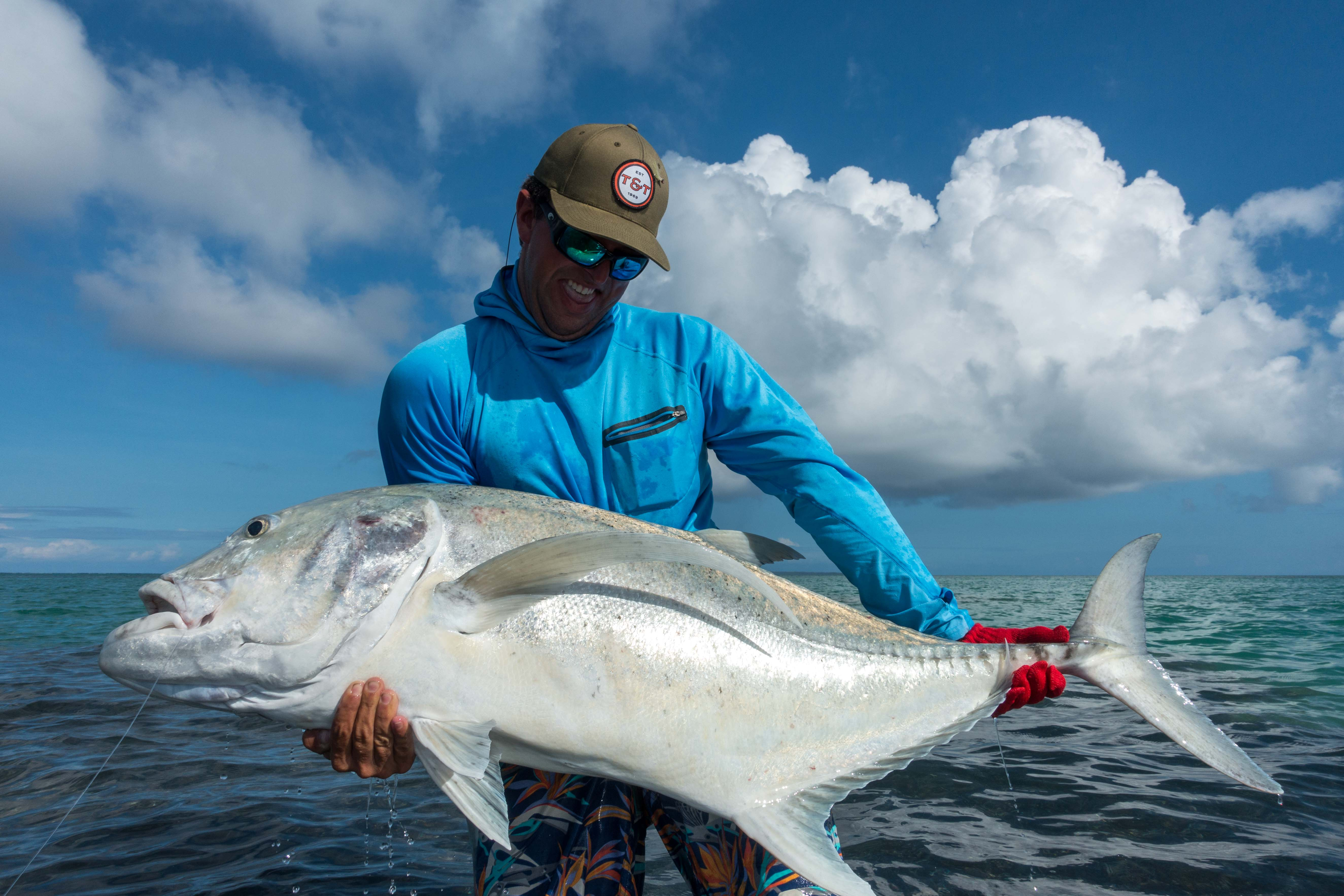 Fly Fishing For Giant Trevally Amp Gt Facts Flies Best Rods Lures