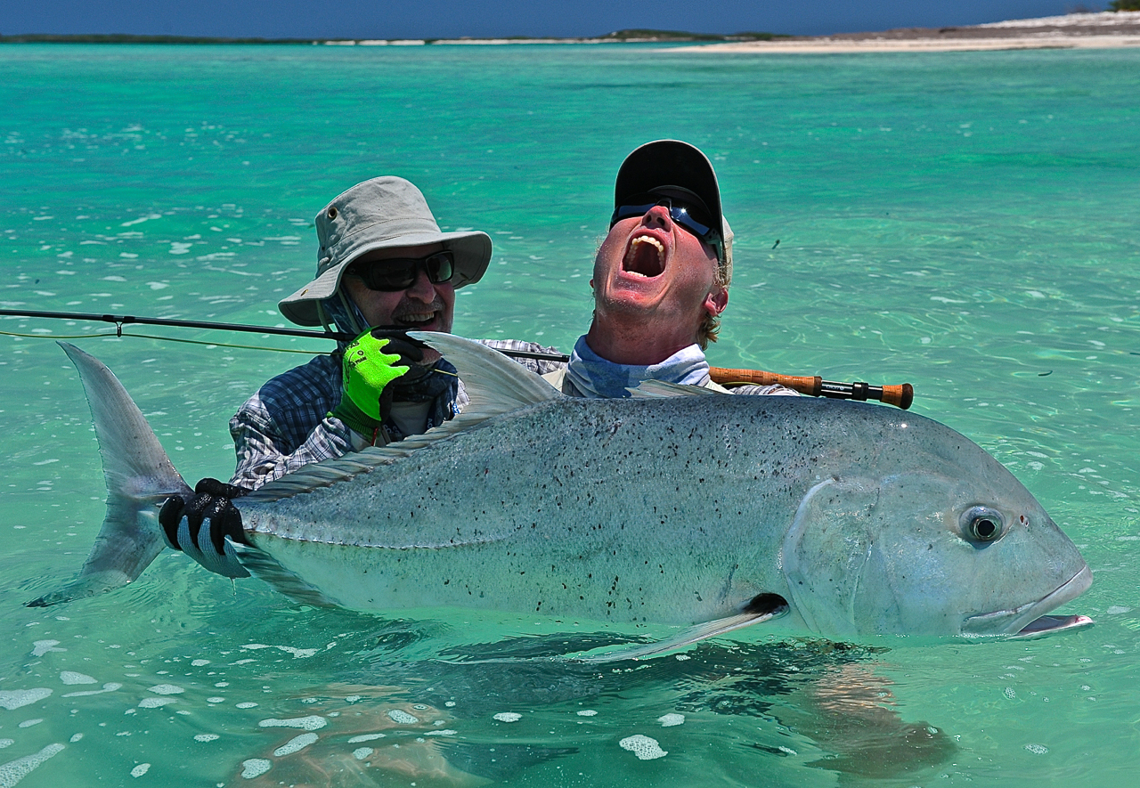 Interesting facts about the giant trevally gt alphonse for Facts about fishing